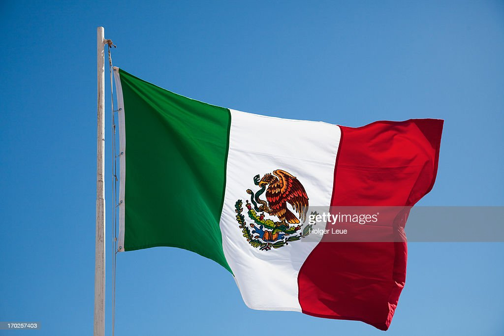 Mexican flag : Stock Photo