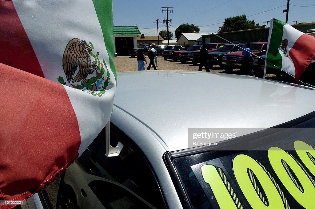 Greeley Car Dealerships >> Greeley Colo June 22 2005 Mexican Flags Welcome