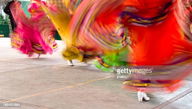 mexican folklore dancers - cinco de mayo stock pictures, royalty-free photos & images