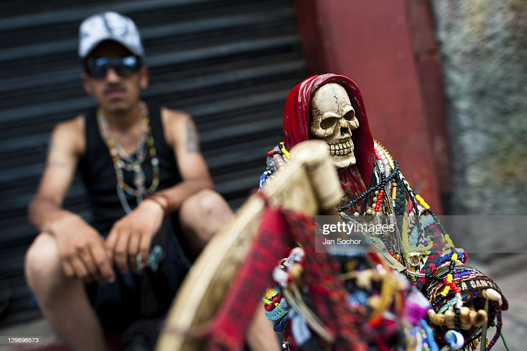 Devotion to Saint Death in Mexico : News Photo