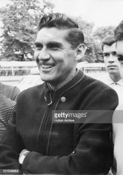 Mexican footballer Antonio Carbajal outside his London hotel 6th July 1966 He and the rest of the Mexican team are in London for the World Cup