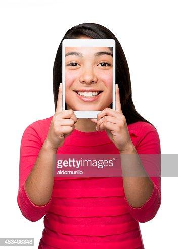 mexican teen selfie