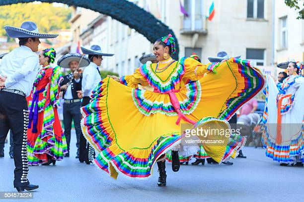 Mexican Group participating in festival's parade