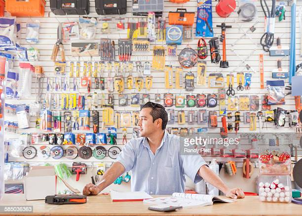Mexican Hardware Business Owner