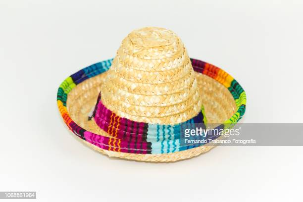 mexican hat - mexican fiesta stock pictures, royalty-free photos & images