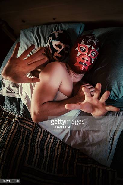 mexican lucha libre couple