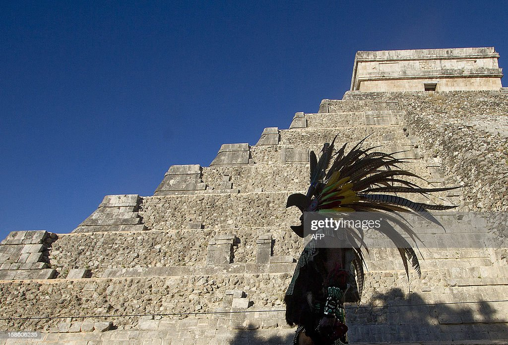 MEXICO-MAYA-CALENDAR-CELEBRATIONS : News Photo