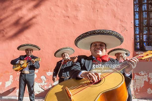 Mexican Mariachi group in Merida, Yucatan, Mexico