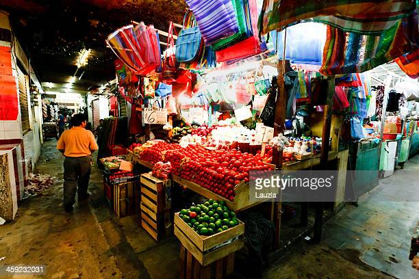 mexican market - merida mexico stock photos and pictures