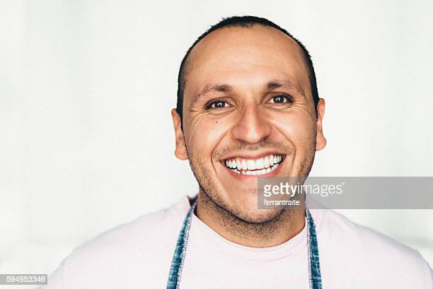 Mexican mid adult man portrait