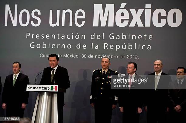 Mexican New Secretary of Foreign Affairs Jose Antonio Meade new Interior Secretary Miguel Angel Osorio Chong new Defense Secretary Salvador...