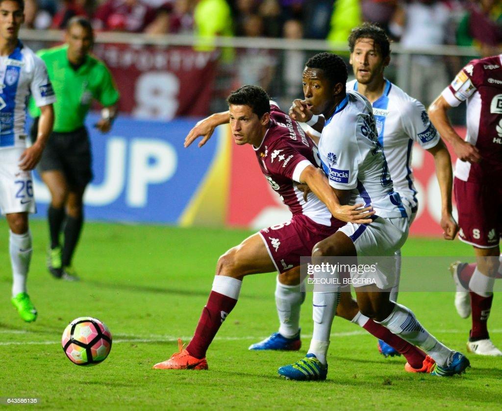 FBL-CONCACAF-SAPRISSA-PACHUCA : News Photo