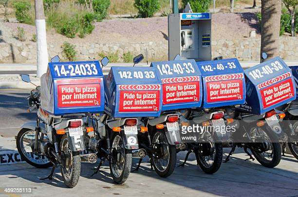 Mexican Pizza Delivery Bikes
