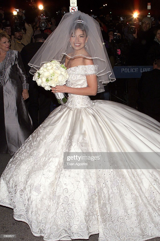Mexican Pop Star Actress Thalia Arrives At St Patrick S Cathedral In New York City