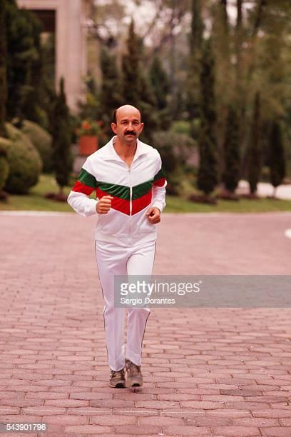 Mexican President Carlos Salinas