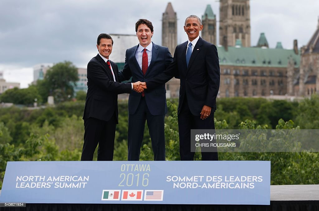 CANADA-US-MEXICO-DIPLOMACY-SUMMIT : News Photo