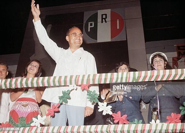 Mexican presidentelect Luis Echeverria