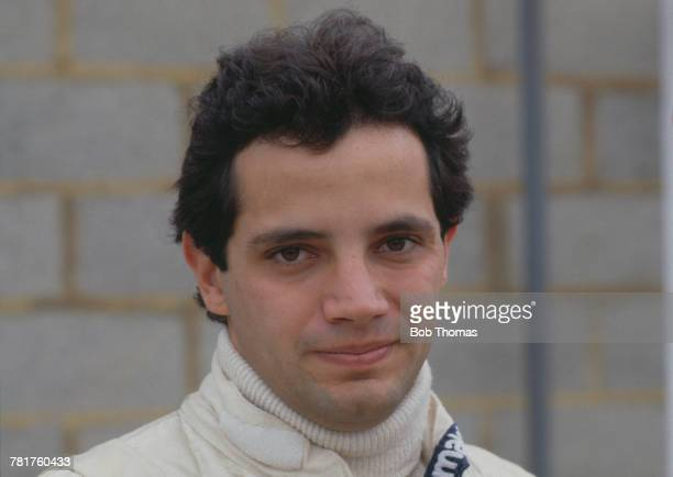 Mexican racing driver Hector Rebaque driver of the Parmalat Racing Team Brabham BT49C Ford Cosworth DFV 30 V8 pictured prior to competing to finish...