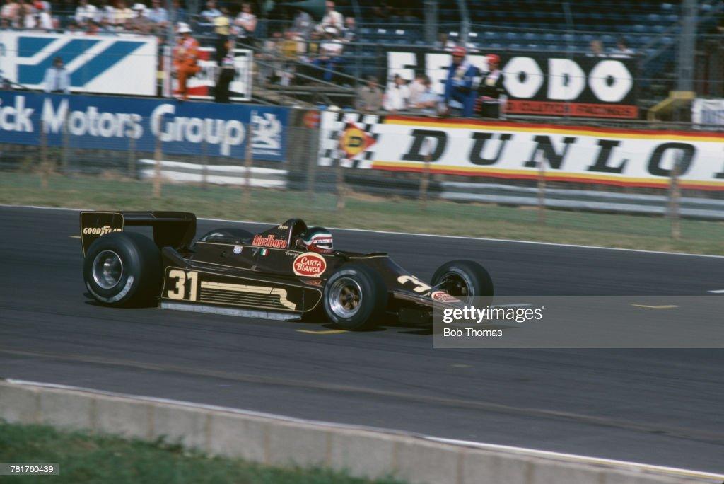 1979 British Grand Prix : Foto jornalística
