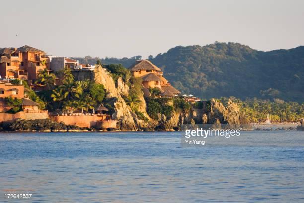 Mexikanische Resort am Nachmittag