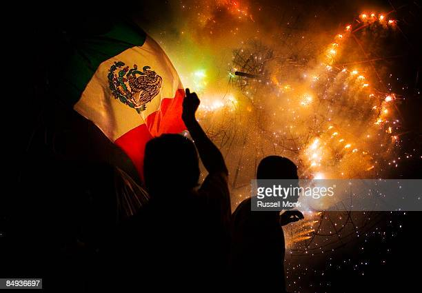 mexican revolution anniversary. - mexican flag stock pictures, royalty-free photos & images