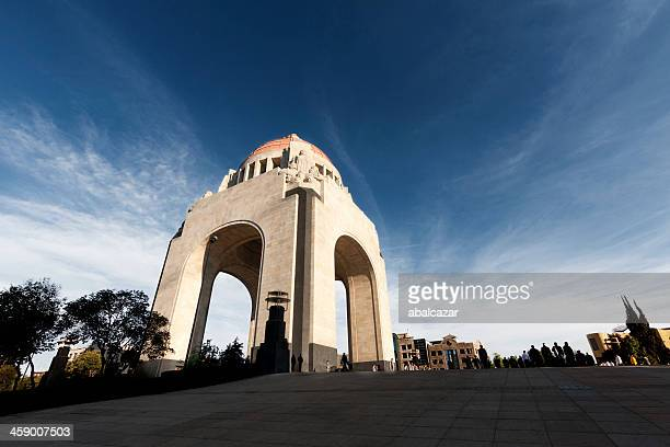 mexican revolution memorial - mexican revolution stock photos and pictures
