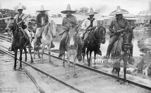 Mexican Revolutionaries at Tampico Mexico