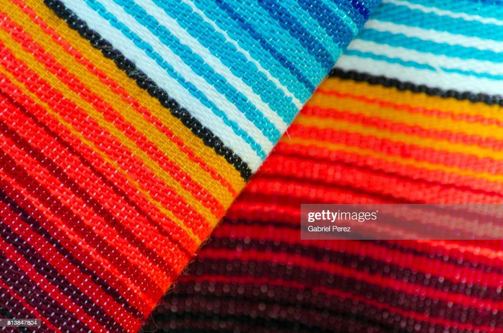 A Mexican Serape : Stock Photo