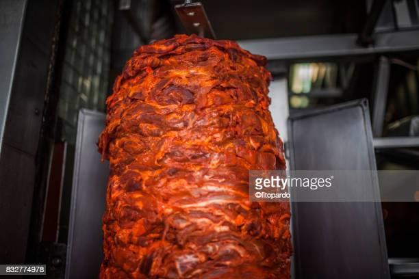 Mexican shawarma, tacos al pastor