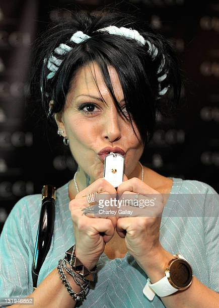 Mexican Singer Alejandra Guzman attends Gucci Timepieces and Jewelry Celebrate Latin GRAMMY Week at THEhotel at Mandalay Bay Hotel and Casino on...