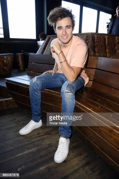 Mexican singer and actor Jorge Blanco attends the Semmel Concerts Press Lunch on December 4 2017 in Berlin Germany
