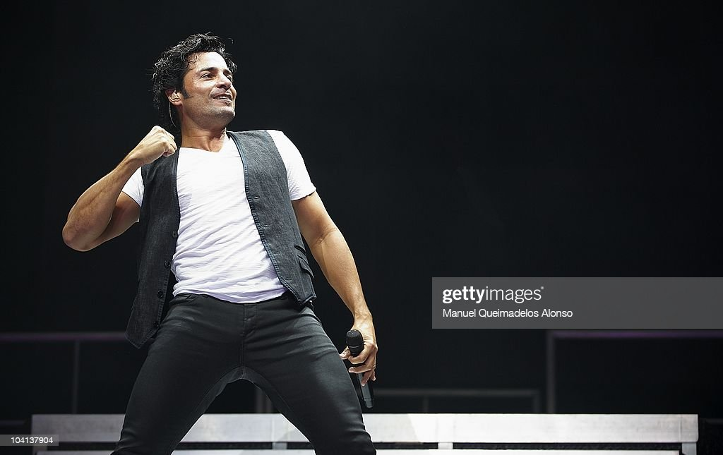 Chayanne Performs in Concert in Valencia