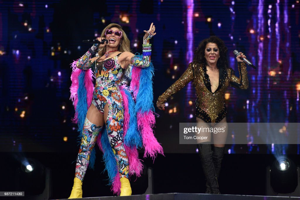 Gloria Trevi And Alexandra Guzman In Concert - Denver, CO