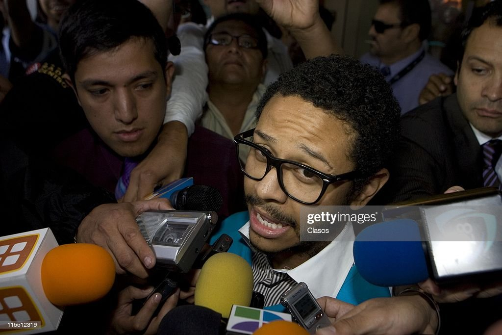 Mexican singer Kalimba speaks to press upon his exit from Federal