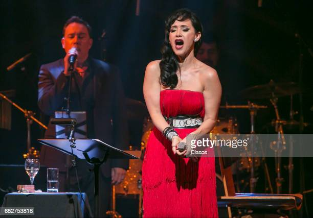 Mexican singer Susana Zabaleta performs during a show at Lunario del Auditorio Nacional on April 29, 2017 in Mexico City, Mexico.