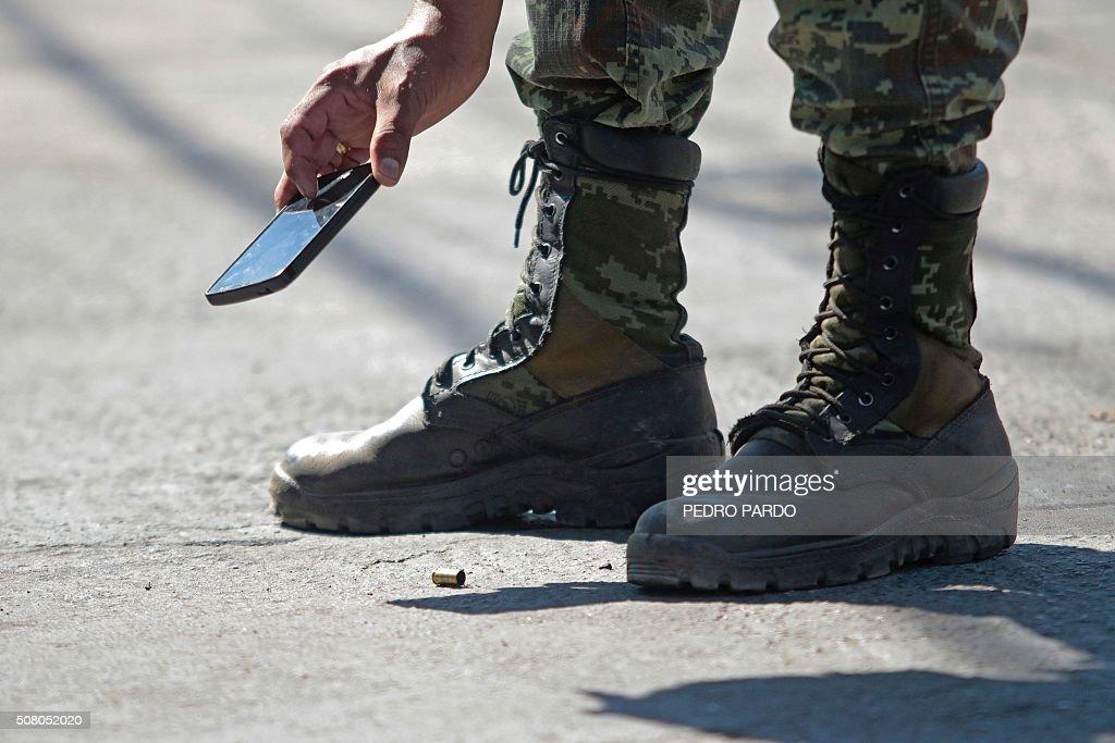 MEXICO-VIOLENCE-CRIME : News Photo