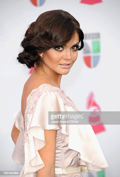 Mexican television personality Marisol Gonzalez arrives at the 13th annual Latin GRAMMY Awards held at the Mandalay Bay Events Center on November 15...