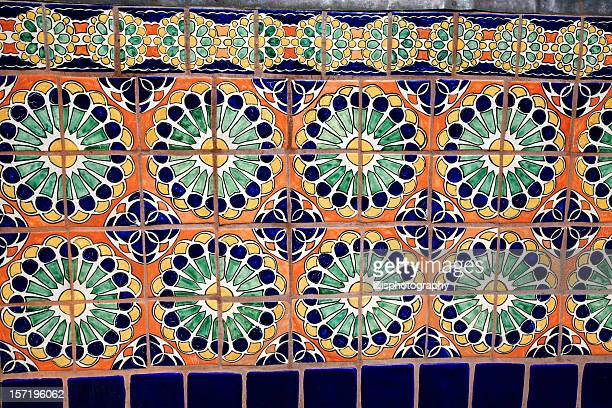 Mexican Tile Wall Santa Fe