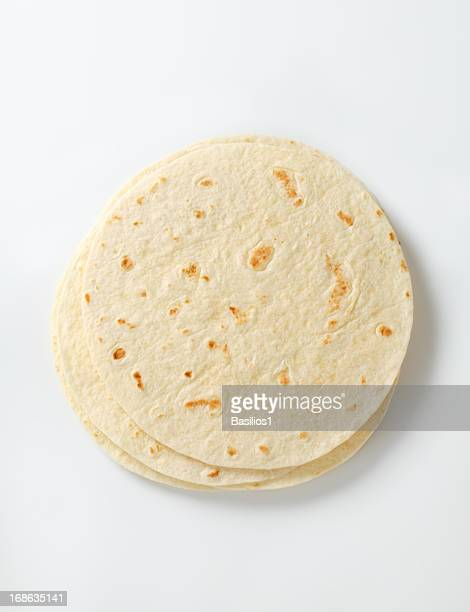 mexican tortillas - tortilla flatbread stock photos and pictures