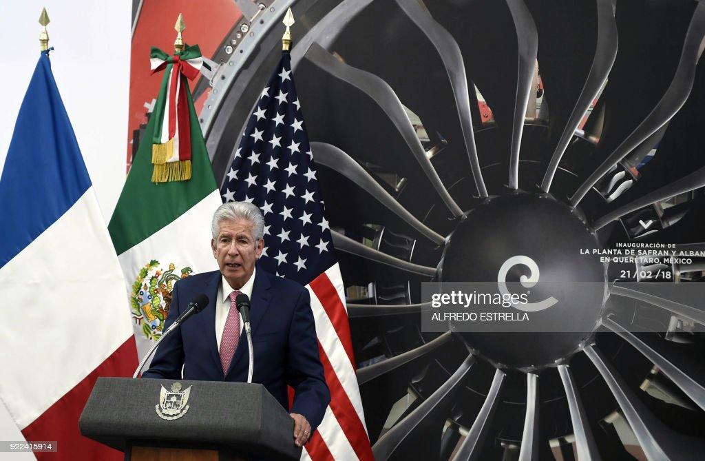MEXICO-AEROSPACE-PLANT : News Photo
