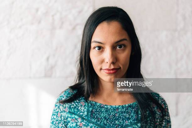 mexican woman portrait - blank expression stock pictures, royalty-free photos & images