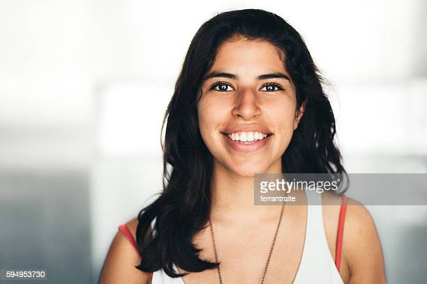 Mexican young woman Portrait