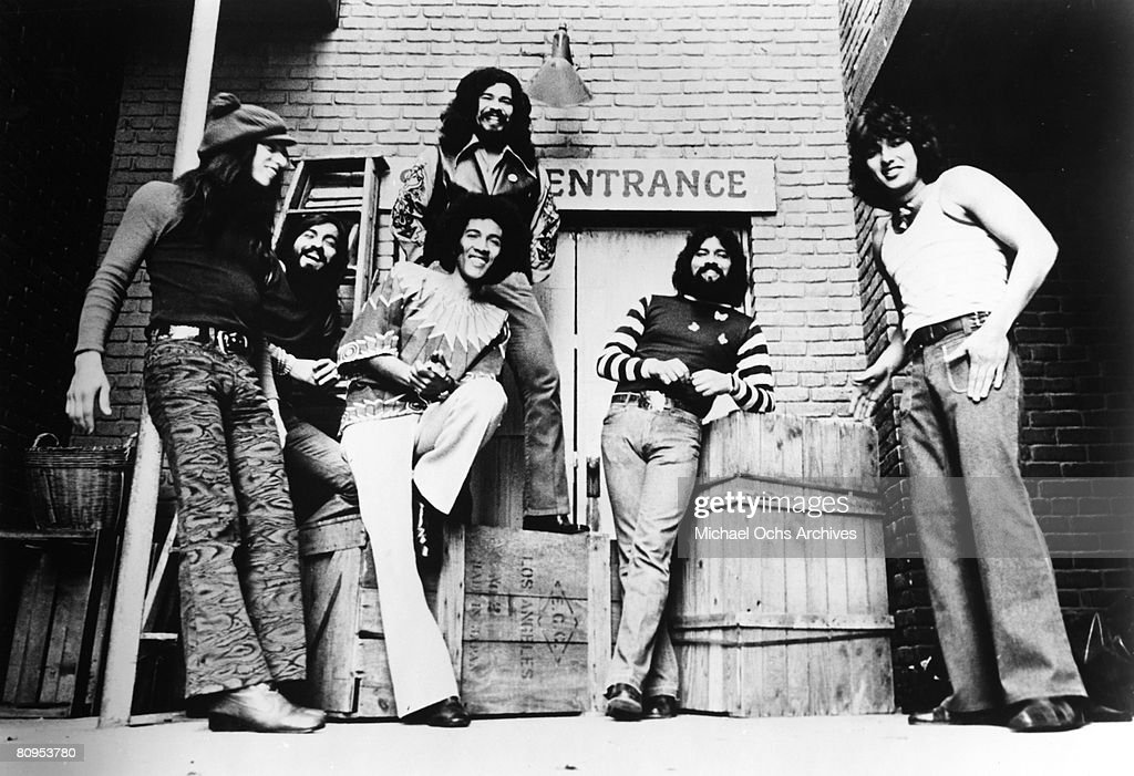 "Mexican-American band ""El Chicano"" including members Rudy Regalado ..."