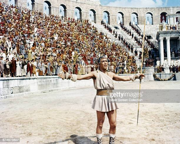 Mexicanborn actor Anthony Quinn as Barabbas in the religious epic film 'Barabbas' 1961