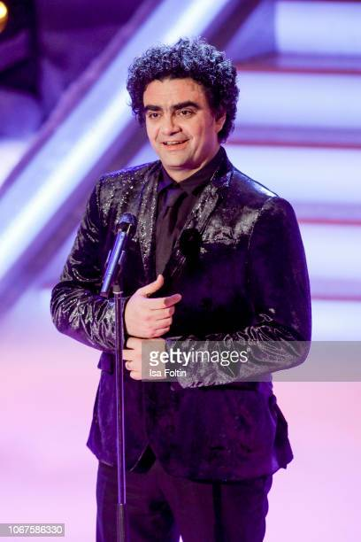 MexicanFrench singer Rolando Villazon performs during the annual tv show 'Das Adventsfest der 100000 Lichter' on December 1 2018 in Suhl Germany