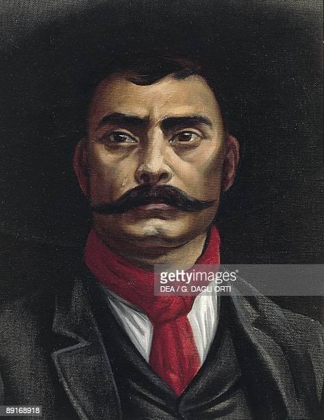 Mexico 19th century Portrait of Emiliano Zapata