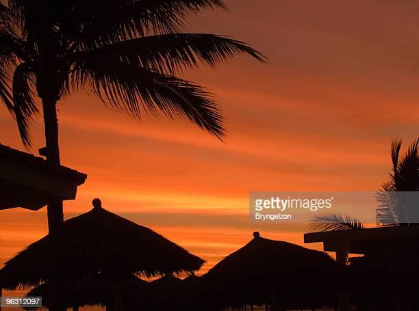 Mexico at Sunset-Puerto Vallarta