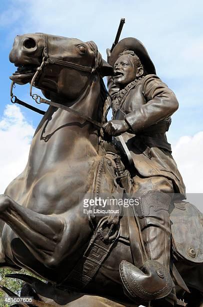 Mexico Bajio Zacatecas Equestrian statue of Mexican Revolutionary leader Pancho Villa at Cerro de la Buffa