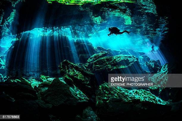 mexico caverns - cancun stock pictures, royalty-free photos & images