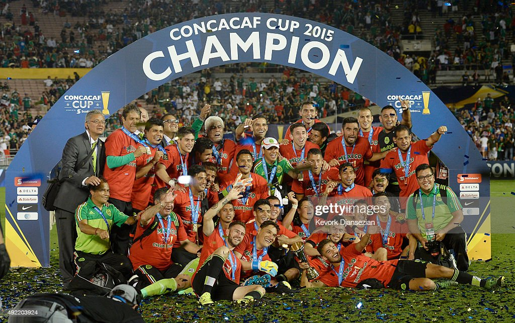 Mexico Celebrates After Defeating The United States 3 2 In
